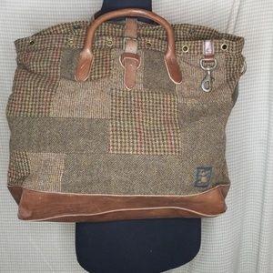 4b93562c60a Polo by Ralph Lauren Bags - Polo Ralph Lauren overnight bag in wool  patchwork